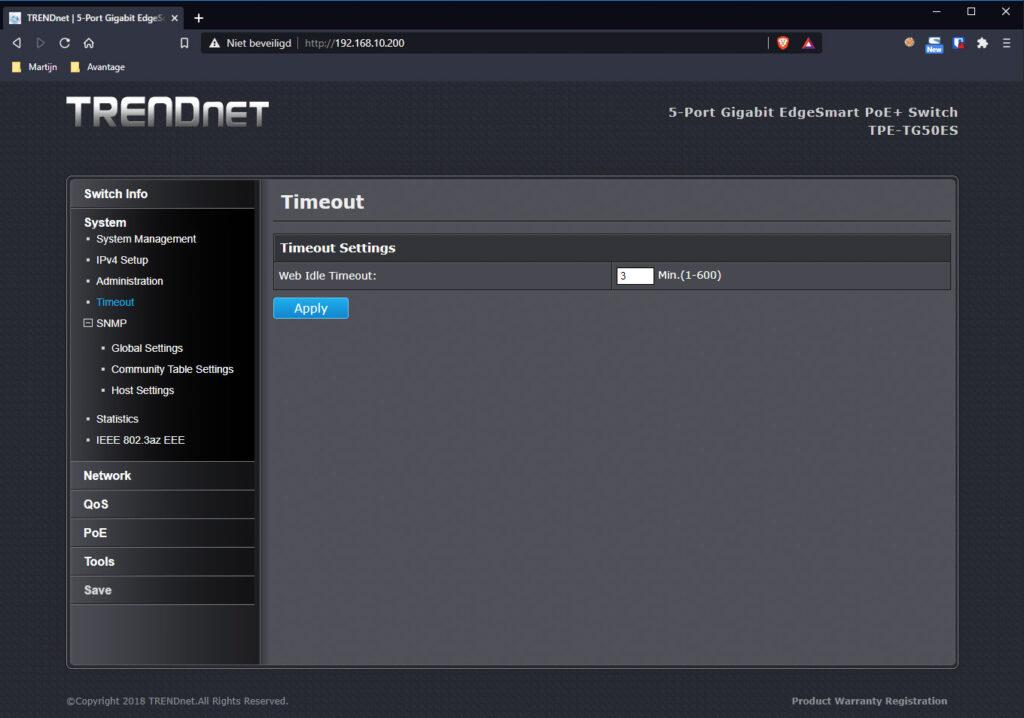 TRENDnet Switch 05