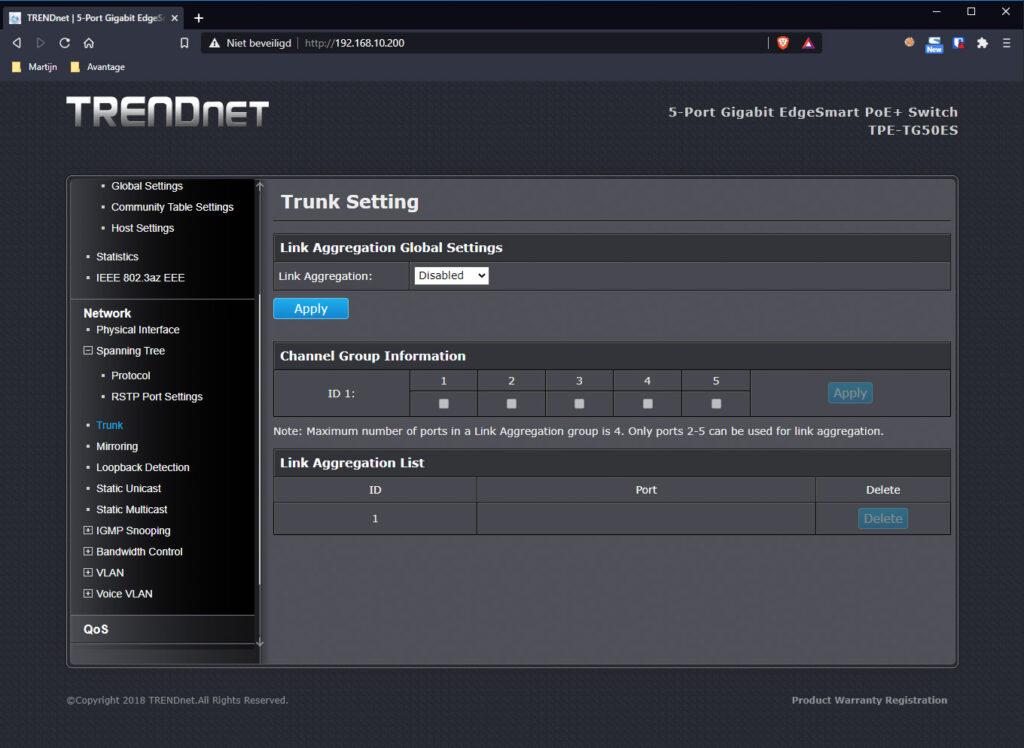 TRENDnet Switch 09