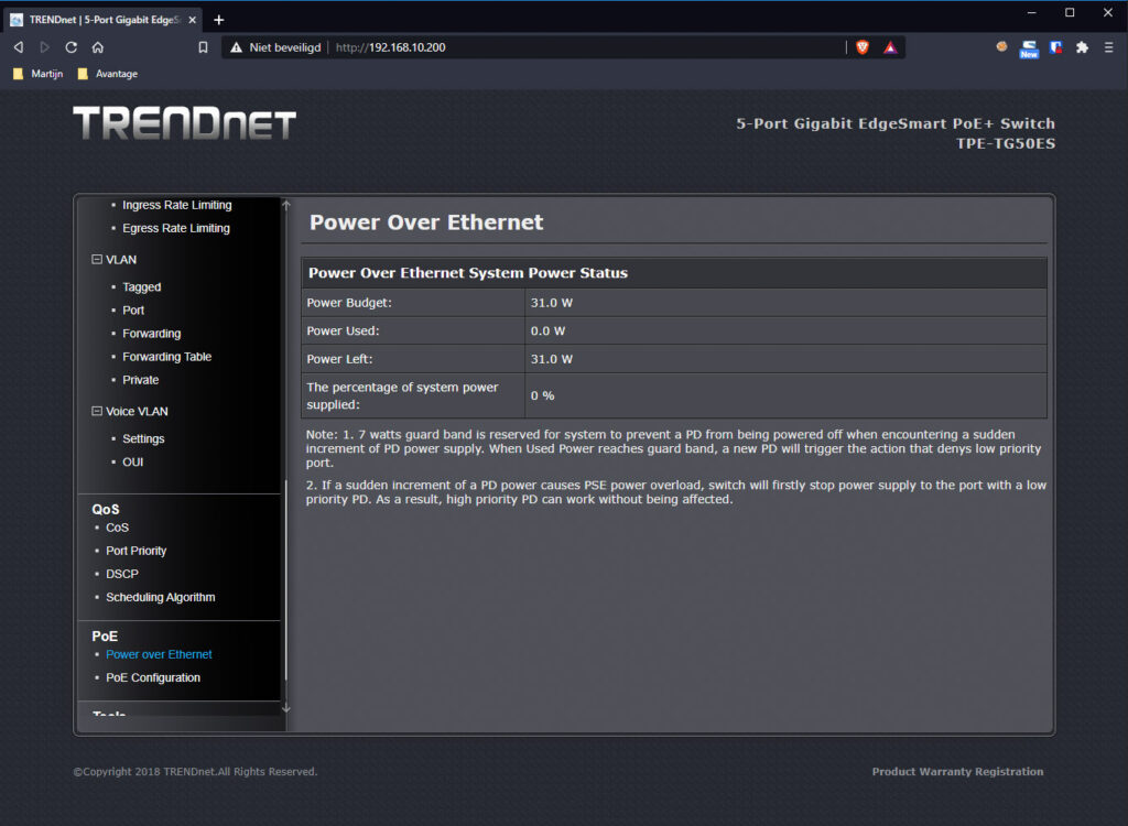 TRENDnet Switch 14
