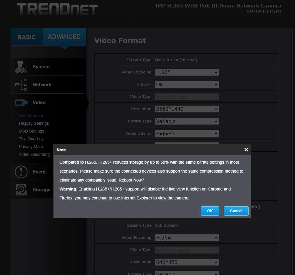 TRENDnet TV-IP1315PI - 12