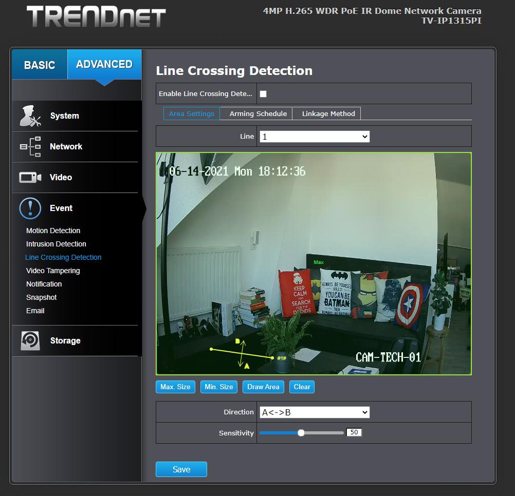 TRENDnet TV-IP1315PI - 20