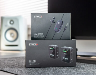 Header Synco Audio G2 microphone tech365 029